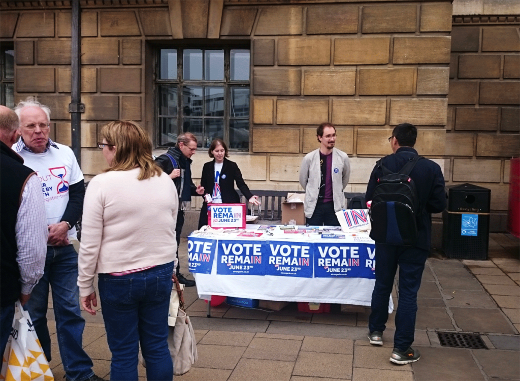 Remain Campaign Cambridge